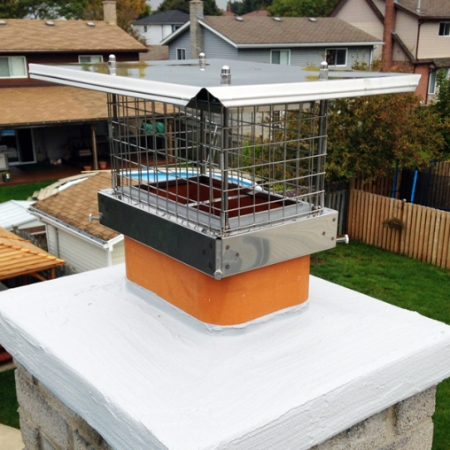 Our Energy Top, our lockable chimney cap. (Check out its product page for a video on how that works).